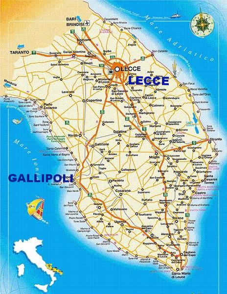 Salento case vacanza gallipoli - Agenzie immobiliari gallipoli ...